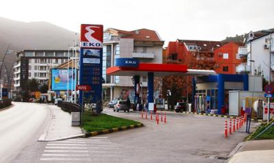 Fuel station in Budva - EKO
