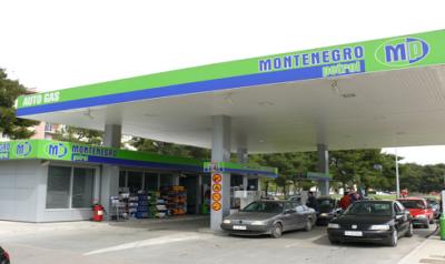 Petrol stations in Tivat - Montenegro Petrol